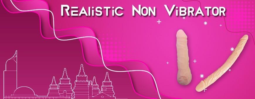 Realistic Non Vibrator | Silicone Dildo | Artificial Penis in Bandung