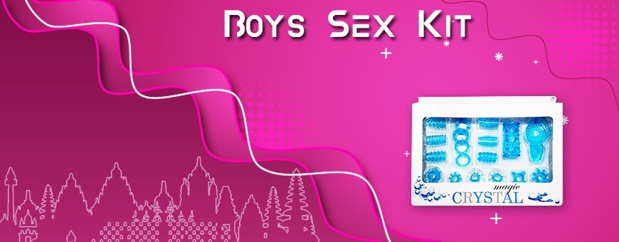 Buy Boys Sex Kit online |Combo Adult Products for Men in Indonesia