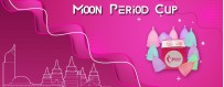 Moon Period Cup| Buy Menstrual Cup Size A in Bandung